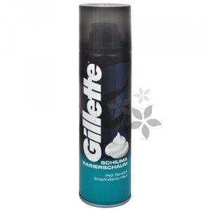 Gillette Pěna na holení pro citlivou pokožku 300 ml