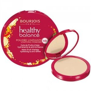 Bourjois Kompaktní pudr Healthy Balance (Asian Fruit Therapy Hydrating & Anti-Shine) 9 g 53 Beige Clair