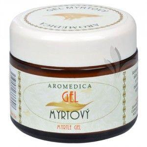 Aromedica Gel myrtový s avokádem - energizující, protizánětlivý 50 ml