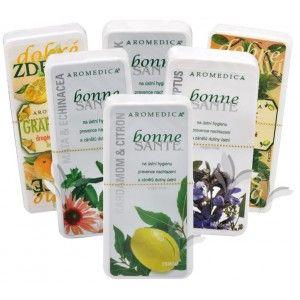 Aromedica Aromaterapeutické tablety Bonne Santé 80 tbl. Q10 & Eleuterokok