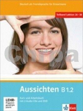 Klett Aussichten B1.2 Kurs-Arbeitsbuch cena od 313 Kč