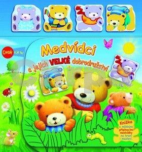 Medvídci a jejich velké dobrodružství cena od 119 Kč