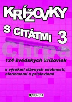 FRAGMENT Krížovky s citátmi 3 cena od 70 Kč