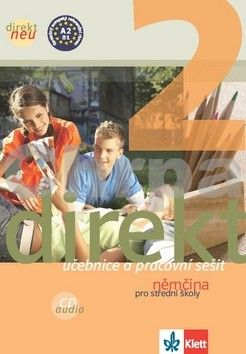 Kolektiv: Direkt 2 neu – učebnice + PS + CD cena od 378 Kč
