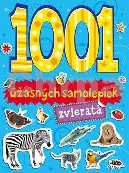 Svojtka 1001 úžasných samolepiek zvieratá cena od 190 Kč