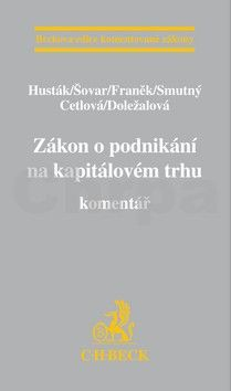 Aleš Smutný: Zákon o podnikání na kapitálovém trhu cena od 1587 Kč