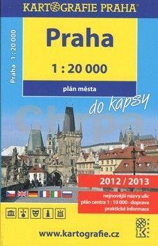 Kartografie PRAHA Praha do kapsy cena od 0 Kč