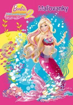 EGMONT Barbie Príbeh morskej panny 2 Maľovanky cena od 102 Kč