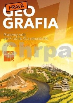 TAKTIK Hravá geografia 7 cena od 69 Kč