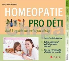Markus Wiesenauer: Homeopatie pro děti cena od 67 Kč