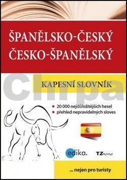 TZ-one: Španělsko-český česko-španělský kapesní slovník cena od 54 Kč