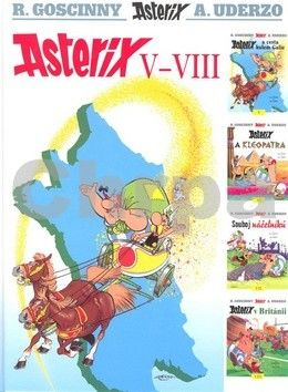 René Goscinny, Albert Uderzo: Asterix V - VIII cena od 307 Kč