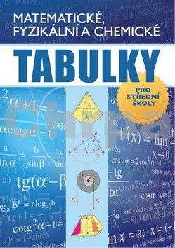 Radek Chajda: Matematické, fyzikální a chemické tabulky cena od 179 Kč
