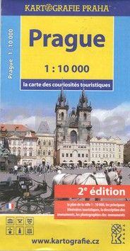 Kartografie PRAHA Praha mapa turistických zajímavostí cena od 40 Kč