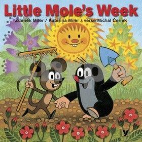 Michal Černík, Kateřina Miler, Zdeněk Miler: Little moles week cena od 85 Kč