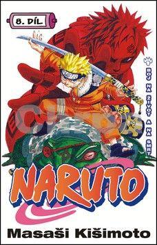 Masaši Kišimoto: Naruto 8 - Boj na život a na smrt cena od 125 Kč
