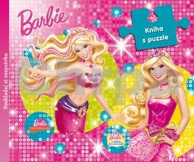 EGMONT Barbie Kniha s puzzle cena od 194 Kč