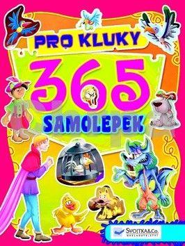 365 samolepek pro kluky cena od 74 Kč