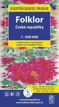 Kartografie PRAHA Folklor České republiky 1:500 000 cena od 103 Kč
