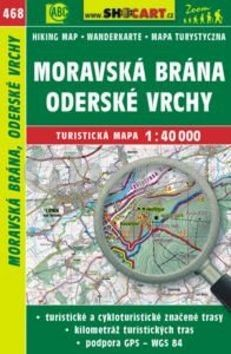 Moravská Brána, Oderské vrchy 1:40 000 cena od 79 Kč