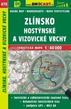 SHOCART Zlínsko, Hostýnské a Vizovické vrchy 1:40 000 cena od 86 Kč