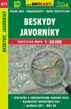 Beskydy, Javorníky 1:40 000 cena od 79 Kč