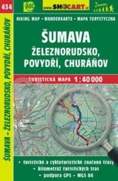 SHOCART Šumava - Železnorudsko, Povydří, Churáňov 1:40 000 cena od 79 Kč