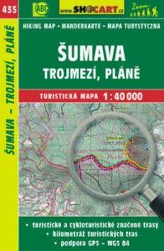 Šumava, Trojmezí, Pláně1:40 000 cena od 86 Kč