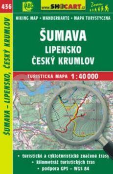 Šumava, Lipensko, Český Krumlov 1:40 000 cena od 86 Kč
