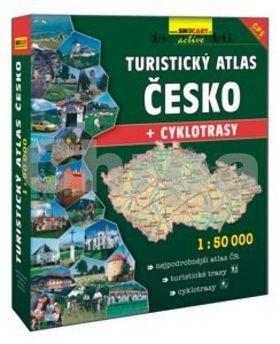 Turistický atlas Česko + cyklotrasy 1:50 000 cena od 1288 Kč