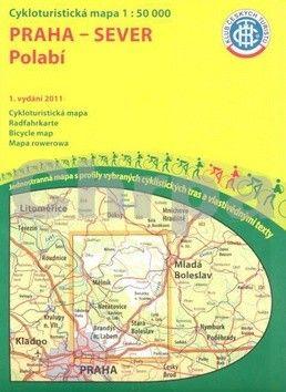 KČTC Praha-sever Polabí 1:50 000 cena od 86 Kč