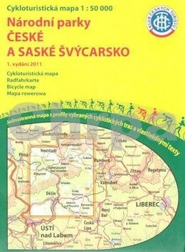 KČTC Národní parky České a saské Švýcarsko 1:50 000 cena od 73 Kč