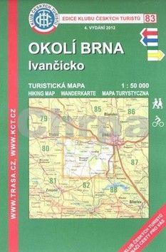 KČT 83 Okolí Brna, Ivančicko cena od 86 Kč