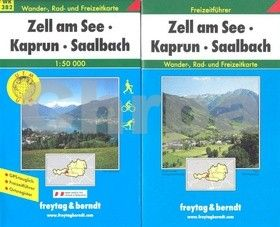 Freytag-Berndt Zell am See, Kaprun, Saalbach 1:50 000 cena od 181 Kč