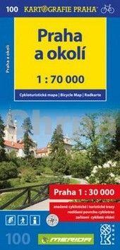 Kartografie PRAHA Praha a okolí 1:70 000 cena od 73 Kč