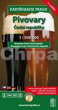 Kartografie PRAHA Pivovary České republiky 1:500 000 cena od 182 Kč