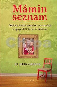 John Greene: Mámin seznam - Emotivní příběh psaný životem cena od 205 Kč