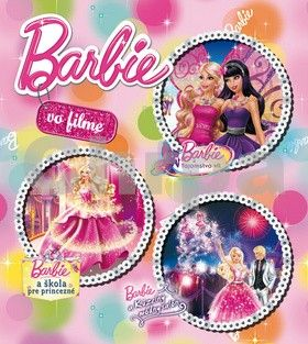 EGMONT Barbie vo filme cena od 204 Kč