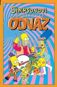 Matt Groening: Simpsonovi: Komiksový odvaz cena od 195 Kč