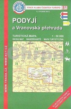 KČT 81 Podyjí a Vranovská přehrada cena od 89 Kč