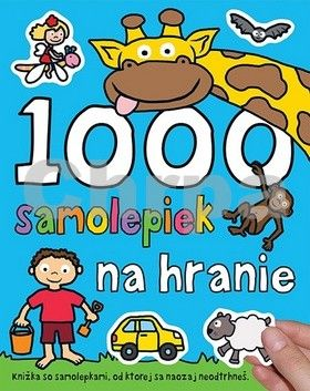 Svojtka 1000 samolepiek na hranie cena od 191 Kč