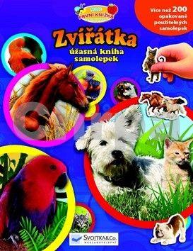 Zvířátka - úžasná kniha samolepek cena od 66 Kč