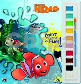 Hledá se Nemo omalovánka s vodovkami cena od 100 Kč