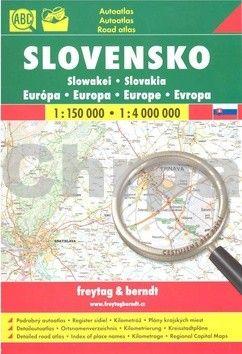 Freytag-Berndt AA Slovensko 1:150 000 cena od 186 Kč