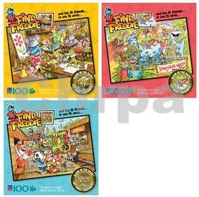 EPline Puzzle dětské svítící ve tmě, 100 dílků cena od 36 Kč