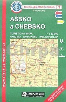 KČT 1 Ašsko a Chebsko cena od 79 Kč