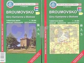 KČT 26 Broumovsko Góry Kamienne qa Stołowe cena od 89 Kč