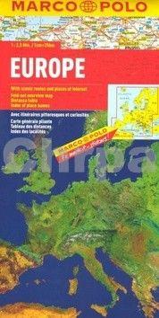Evropa/mapa 1:2 500 000 MD cena od 110 Kč