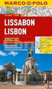 Lisabon - lamino MD 1:15 000 cena od 125 Kč