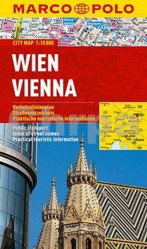 Vídeň - lamino MD 1:15 000 cena od 160 Kč